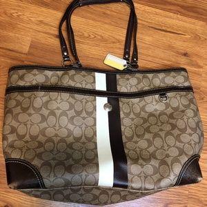 Coach Bags - Coach Brown Diaper Bag